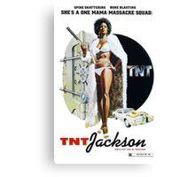 TNT Jackson Canvas Print