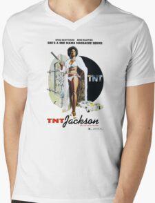 TNT Jackson Mens V-Neck T-Shirt