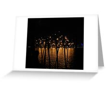 sparkle - reflection Greeting Card
