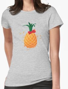 A cute pinapple Womens Fitted T-Shirt
