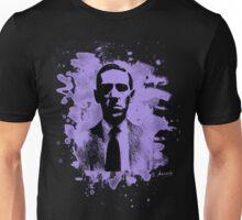 H. P. Lovecraft Tribute (violet) Unisex T-Shirt