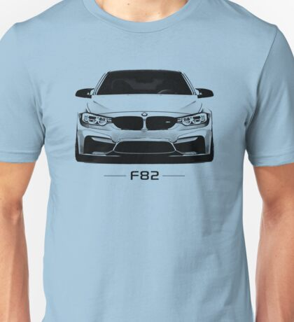 F82 in black and white Unisex T-Shirt