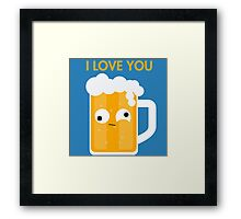 Drunk Beer Framed Print