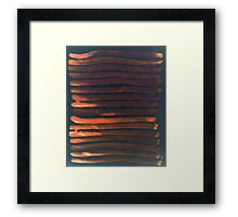 We Have Copper Dreams at Night Framed Print