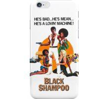Black Shampoo iPhone Case/Skin