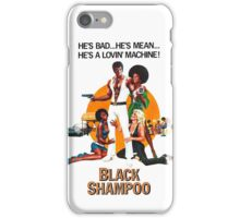 Black Shampoo iPhone Case/Skin