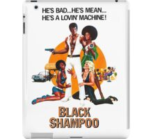 Black Shampoo iPad Case/Skin