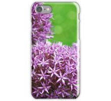 Allium in the Garden iPhone Case/Skin