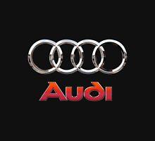 Audi 3D Badge 2.0 on Black T-Shirt