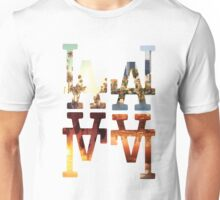 LA Dodgers 4-in-1 White 2 Unisex T-Shirt