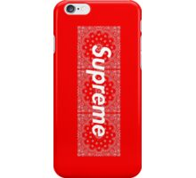 Supreme Red Bandana Media Cases, Pillows, and More. iPhone Case/Skin