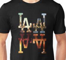 LA Dodgers 4-in-1 Black 2 Unisex T-Shirt