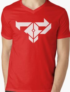 Firepower Records Mens V-Neck T-Shirt