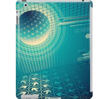 arrow motion with Business background iPad Case/Skin