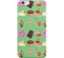 Retro cakes iPhone Case/Skin
