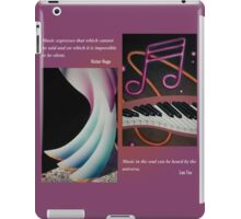 Music: Soul of the Universe iPad Case/Skin