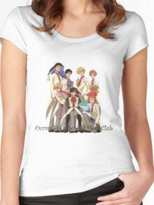 Fancy Host Club Women's Fitted Scoop T-Shirt