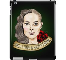 Does it have a happy ending? iPad Case/Skin
