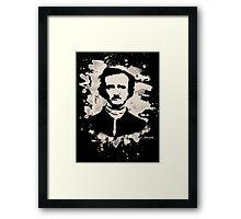 Edgar Allan Poe Tribute Framed Print