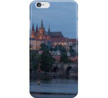 Prague Castle and Vltava River iPhone Case/Skin
