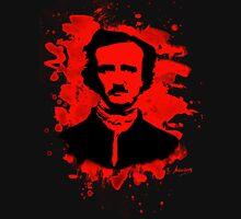 Edgar Allan Poe Tribute (red) Unisex T-Shirt