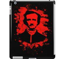 Edgar Allan Poe Tribute (red) iPad Case/Skin