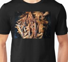 Frying Chicken Feet Unisex T-Shirt