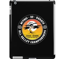 Karate Kid - Mr Miyagi Do Black Variant iPad Case/Skin