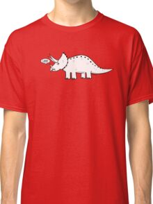 Cartoon Triceratops Classic T-Shirt