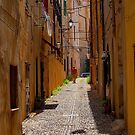 An alley in Alghero. by naranzaria