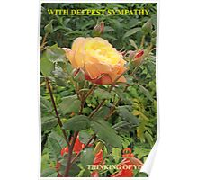 With Deepest Sympathy Poster