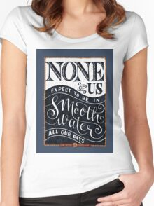 Smooth Water Women's Fitted Scoop T-Shirt