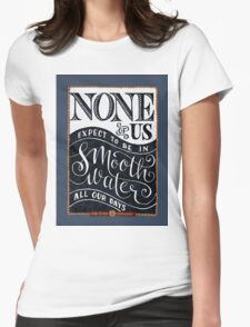 Smooth Water Womens Fitted T-Shirt