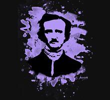 Edgar Allan Poe Tribute (violet) Unisex T-Shirt