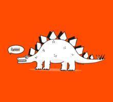Cartoon Stegosaurous Kids Clothes