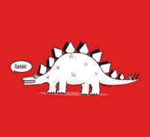 Cartoon Stegosaurous Baby Tee