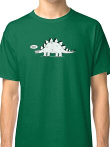 Cartoon Stegosaurous Classic T-Shirt