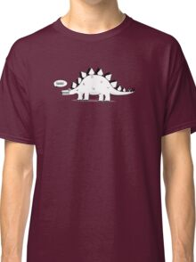 Cartoon Stegosaurus Classic T-Shirt