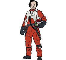 Edgar Allan Poe Dameron - Star Wars Photographic Print