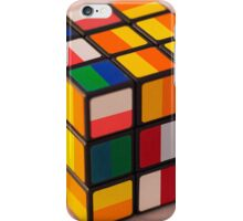 Cube puzzle iPhone Case/Skin