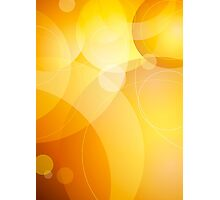 Abstract background lens flares Photographic Print