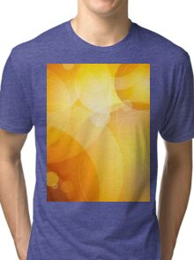 Abstract background lens flares Tri-blend T-Shirt