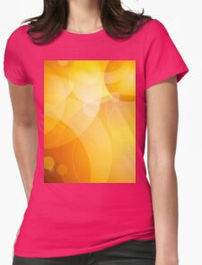 Abstract background lens flares Womens Fitted T-Shirt