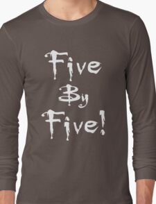 Buffy - Five by Five Long Sleeve T-Shirt