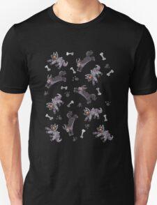 Poochyena & Mightyena pattern T-Shirt