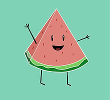 Walter Melon - Cute Salad by lrceleste
