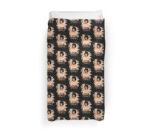 Mary Shelley (Wollstonecraft) Tribute (burnt) Duvet Cover