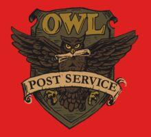 Owl Postal Service Baby Tee