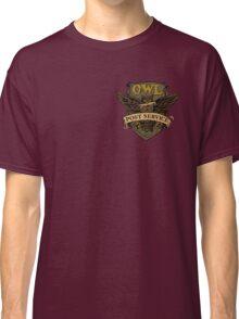 Owl Postal Service Classic T-Shirt