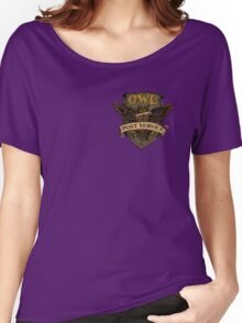 Owl Postal Service Women's Relaxed Fit T-Shirt